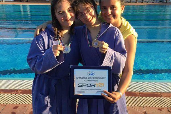 Al IV Meeting Puglia  FISDIR successi per le nostre atlete